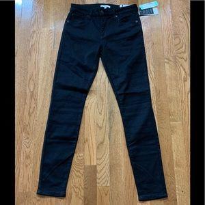 New Midrise STS Blue Black Skinny Jeans